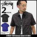 ステューシー STUSSY シャツ 半袖 メンズ 17SU Classi
