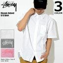 ステューシー STUSSY シャツ 半袖 メンズ Classic Oxf