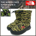 ザ ノースフェイス THE NORTH FACE ヌプシ ブーティー 4 タイガーカモ メンズ(the north face NUPTSE BOOTIE IV ブーツ シューズ NF01271-TC ザ・ノース・フェイス THE・NORTHFACE)
