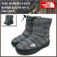 ザ ノースフェイス THE NORTH FACE ヌプシ ブーティー WP 3 グレンチェック メンズ(the north face NUPTSE BOOTIE WP III Glen Check ブーツ シューズ NF51481-GC ザ・ノース・フェイス THE・NORTHFACE)