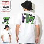 バンズ VANS Tシャツ 半袖 メンズ マーベル ハルク コラボ ( vans×MARVEL Hulk S/S Tee Wネーム ティーシャツ T-SHIRTS カットソー トップス メンズ 男性用 VN0A3HUQWHT ヴァンズ )[M便 1/1] ice field icefield