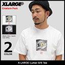 エクストララージ X-LARGE Tシャツ 半袖 メンズ ラーカー(x-large Lurker S/S Tee Creature Pack ティーシャツ T-SHIRTS カットソー ト..