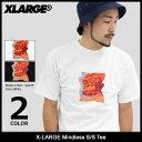 エクストララージ X-LARGE Tシャツ 半袖 メンズ マインドレス(x-large Mindless S/S Tee ティーシャツ T-SHIRTS カットソー トップス XLARGE Extra Large エックスラージ M17C1103)[M便 1/1]