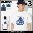 エクストララージ X-LARGE Tシャツ 半袖 メンズ フリップ サイド(x-large Flip Side S/S Tee ティーシャツ T-SHIRTS カットソー トップス XLARGE Extra Large エックスラージ M18A1103)[M便 1/1]
