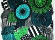 marimekko マリメッコ テーブルクロス SIIRTOLAPUUTARHA / シイルトラプータルハ/家庭菜園(10cm単位の販売) 撥水加工(はっすい) ビニールコーティング まりめっこ[10P03Dec16]