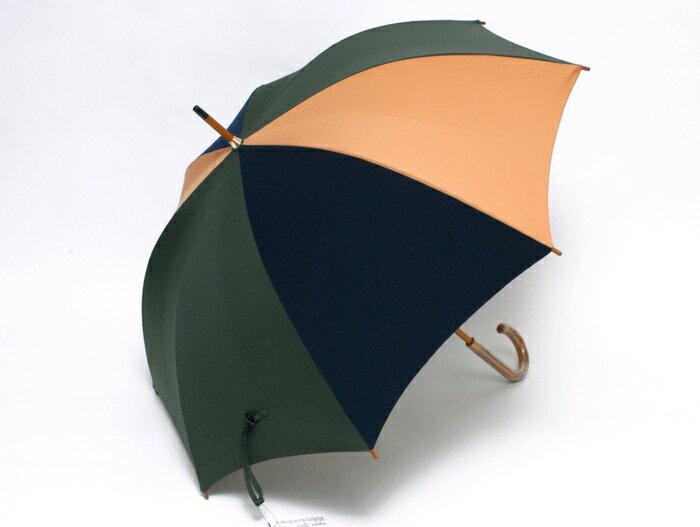 在庫処分Sale 日本製 RAMUDA 65レクタスコンビ 手開き式【傘屋伝七/170230】【訳あり】 熟練の職人によって昔ながらの製法でひとつひとつ丁寧に作られています。【たのしい】