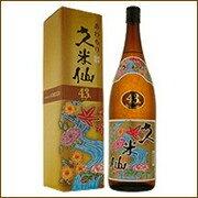 久米仙酒造 泡盛久米仙1800ml 43度  【日本の島_名産品】