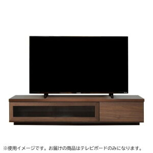 SHOT(ショット) テレビボード W150cm ブラウン【同梱