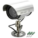 【送料無料】防犯LED点滅ダミーカメラ ADC-209【同梱・代引き不可】