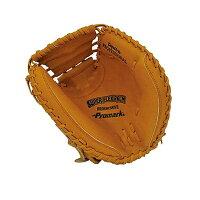 Promark プロマーク 野球グラブ グローブ 軟式一般 捕手用 キャッチャーミット オレンジ PCM-4363【同梱・代引き不可】の画像