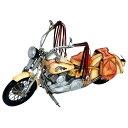 ブリキのおもちゃ(motorcycle western) 27216【同梱・代引き不可】