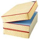 マットレス 【厚さ15cm シングル 高反発】 日本製 洗えるカバー付 通年使用可 リバーシブル 『エクセレントスリーパー5』同梱・代金引換不可
