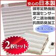 【送料無料】【2枚セット】電気毛布 丸洗いできる電気毛布 安心の日本製 室温センサー付 なかぎし(ナカギシ) 敷き毛布 140×80cm NA-023S