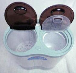 【送料無料】二槽式小型洗濯機晴晴AHB-02洗濯2.6kg脱水2kg一人暮らしやオフィスなどにオススメ