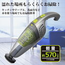 【あす楽】 コードレスハンディクリーナー Wet&Dry P...