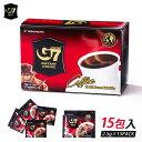 ベトナムコーヒー ブラック instant coffee 15袋 ブラックコーヒー インスタントコーヒー ホット ベトナム式 G7 【代引不可】【同梱不可】
