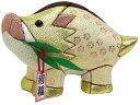 イノシシ 木目込み人形 葵 金色 No.11 (完成品ではありません)布付き