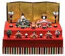 雛人形 コンパクト 内裏雛桃春新二段飾り ひな人形 桃の節句 ひな祭り 出産祝い 初節句 季節飾り 小さい コンパクト