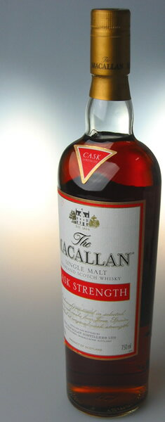The Macallan cask strength 60 degree single malt whisky 750 ml
