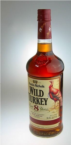 1,000 ml of wild turkey eight years