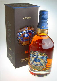 Chivas Regal 18 years 700 ml Bullen dead whiskey