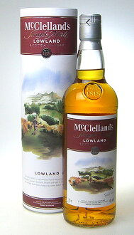 750 ml of McClellan's Roland 40 degrees single malt whiskey