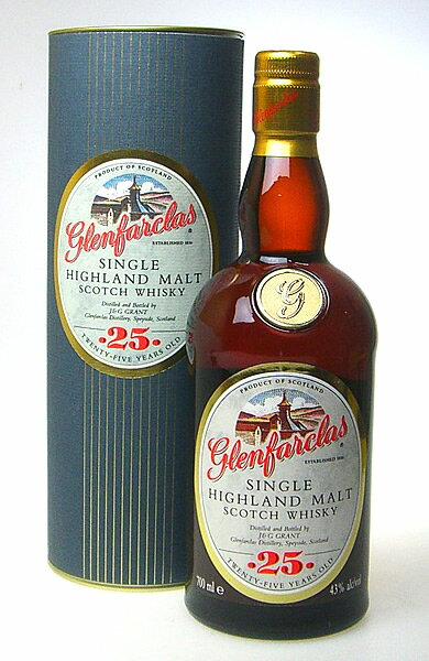Glenfarclas 25 year 43-degree 700 ml
