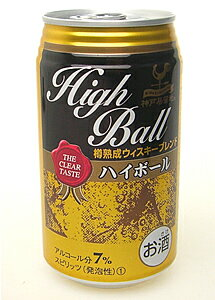 Case highball cask matured whisky blend 350 ml x 24 cans 1 case 02P01Sep13