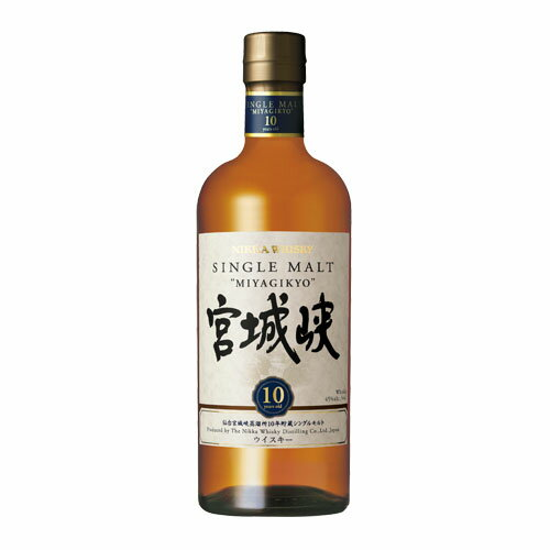 Single malt 宮城峡 ten years 700 ml 45 degrees whiskey