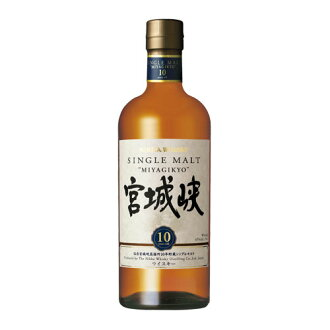Single malt 宮城峡 ten years 700 ml 45 degrees whiskey 02P01Sep13
