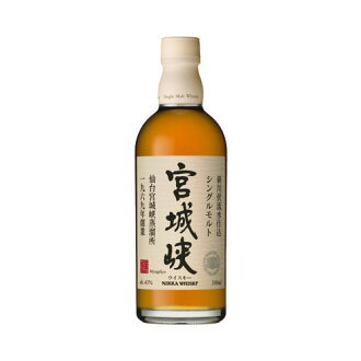 500 ml of single malt 宮城峡 43 degrees whiskey