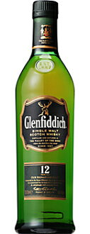 Glenfiddich 12 years 700 ml single malt whiskey