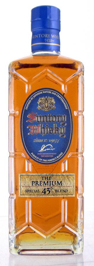 Suntory premium square bottle 700 ml