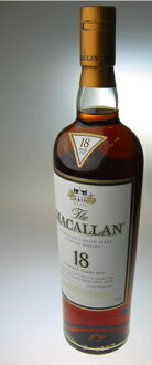The Macallan 18 years 43-degree 700 ml