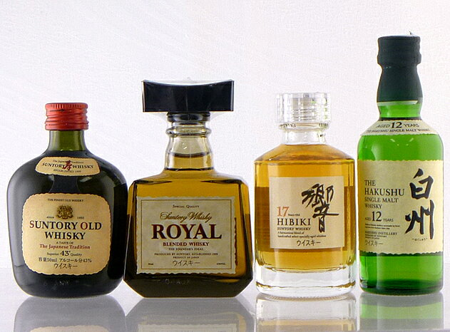 Suntory whisky miniature 5 book set ( SUNTORY ) 02P01Sep13