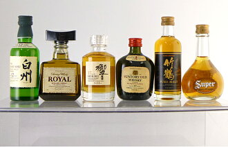 New-Japanese whisky miniature 7 book set ( Suntory and Nikka) 02P01Sep13