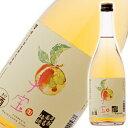 食べるフルーツリキュール 子宝 完熟南高梅酒 楯の川酒造 山形のお酒 720ml