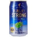 素滴しぼり ストロングチューハイ 白ぶどう 350ml×24缶 1ケース