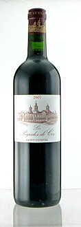 The second wine of the second grade レ パゴド ド Koss[2007]Medoc Koss death トゥルネル