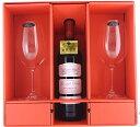 楽天ワイン紀行ボルドー金賞ワイン&リーデルボルドーグラス2脚セット ギフトボックス入り ブライダルや記念日ギフトにおすすめ!送料無料