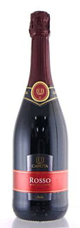 Capita ballerina-Rosso spmantedolce sweet sparkling wine 750 ml Italy foam wine red