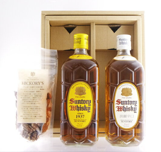Suntory square bottle + otsumami set 02P01Sep13