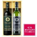 ギフトボックス入り クラレンドル バイ シャトー オー ブリオン 赤白ワイン2本ギフトセット ボルドー フランス 750ml 【送料無料】
