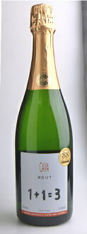 C f c fan Torres Brut 1 + 1 = 3 sparkling wine Cava Brut 750ml Spain