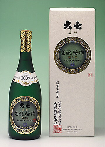 【大七酒造】大七生もと梅酒 極上品 720ml