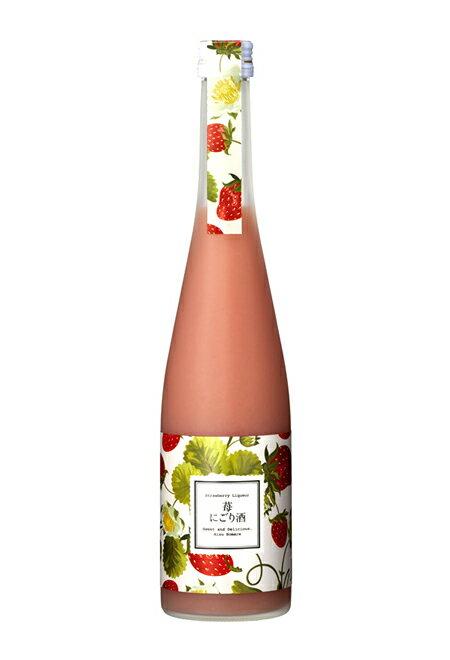 ほまれ酒造 苺にごり酒 500mlの商品画像