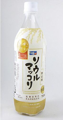 【サントリー】ソウルマッコリ 750ml ペット【15個まで1個口配送可能】