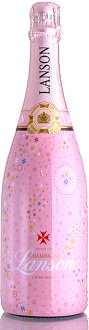 Lanson rose limited edition champagne NV