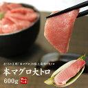 【送料無料】本マグロ大トロ600g(200g×3サク)醤油も...