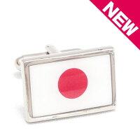 【カフスボタンカフリンクス】日本国旗JAPANFLAG【送料無料】【あす楽対応_北海道】【楽ギフ_包装】